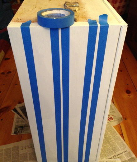 Nautical Cabinet Taping Stripes