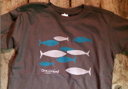 Fish School Toddler T on OneOceanArts