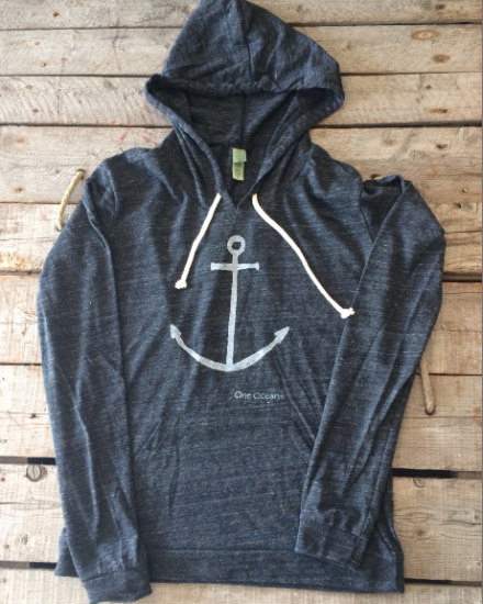 Anchor Hoodie on OneOceanArts