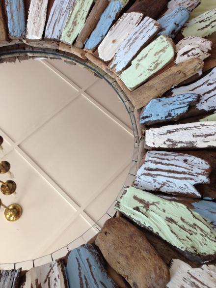 Driftwood Mirror Insert