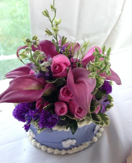 Parker Florist Cupcake Topper Bouquet