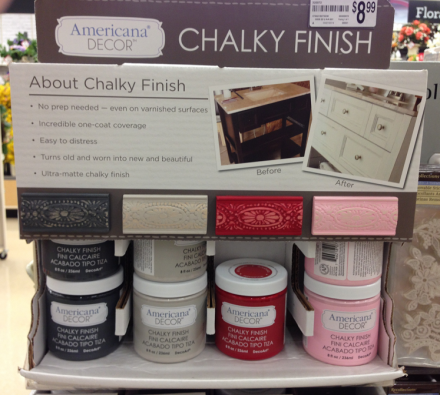 Americana Chalky Finish Paint