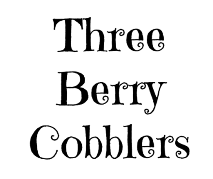 Three Berry Cobbler Graphic