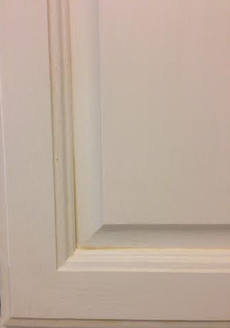 Cabinet Door Glaze and Dry