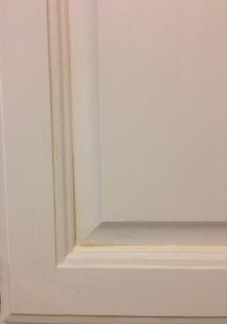 Cabinet Door Glaze and Dry