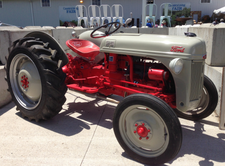 Country Living Fair Ford Tractor