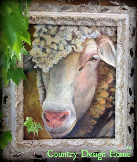 Cow Painting by Shelly Broughton