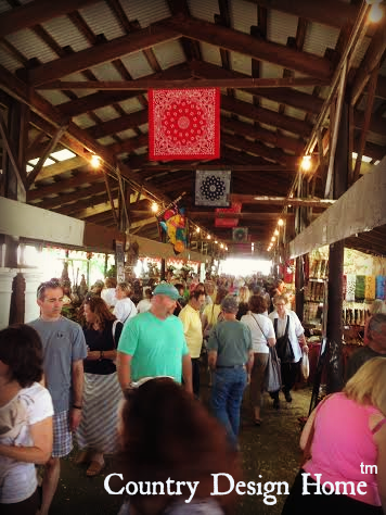 Crowd Scene from Country Living Fair