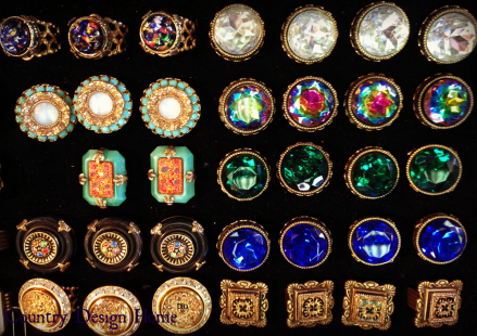 Grandmother's Buttons Rings