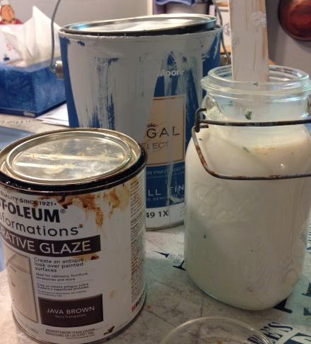 Kithcen Makeover Glaze Mixture