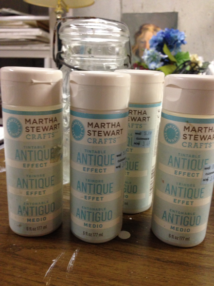 Martha Stewart Glaze Effects