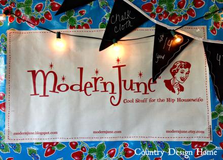 Modern June Cool Stuff Sign CDH