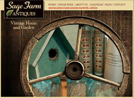 Sage Farms Antiques Logo