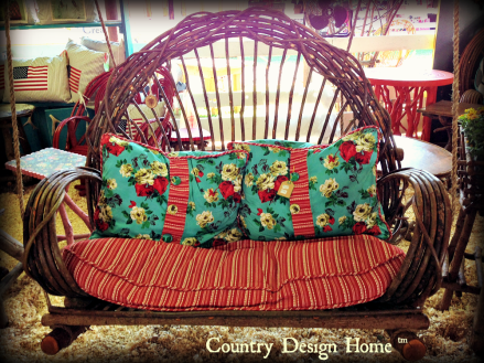 Willow Porch Swing from Around the Bend