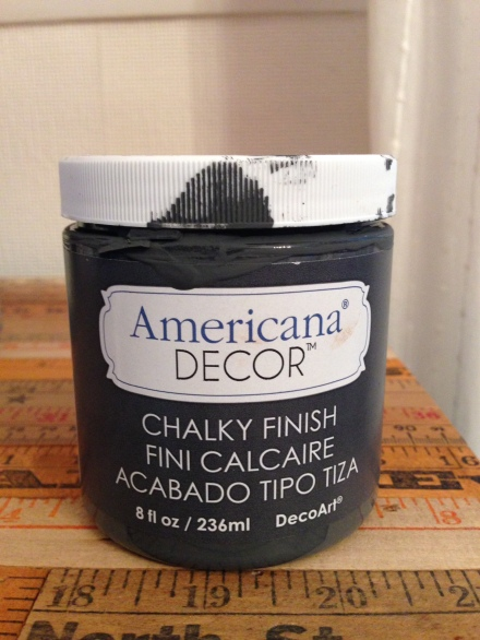 Americana Chalky Paint Relic