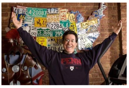 Aaron Foster Art Stephen Colbert