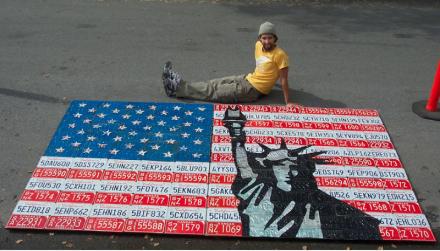 Aaron Foster Liberty Flag