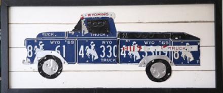 Aaron Foster Pickup Truck