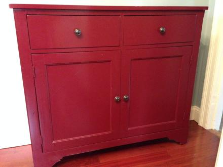 Coastal Kitchen Cabinet Before
