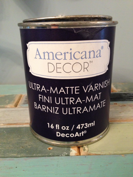 Coastal Kitchen Cupboard Ultra Matte Varnish Americana