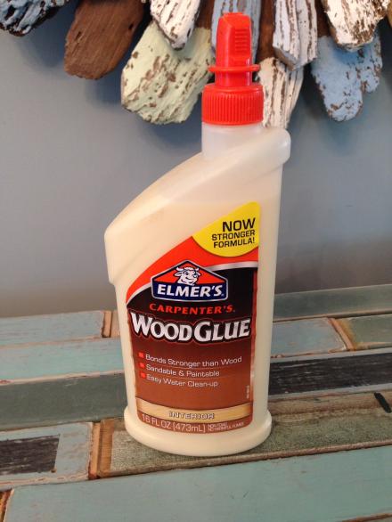 Coastal Kitchen Cupboard Wood Glue