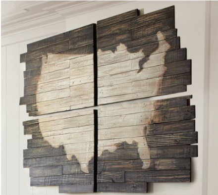 Pottery Barn USA Map