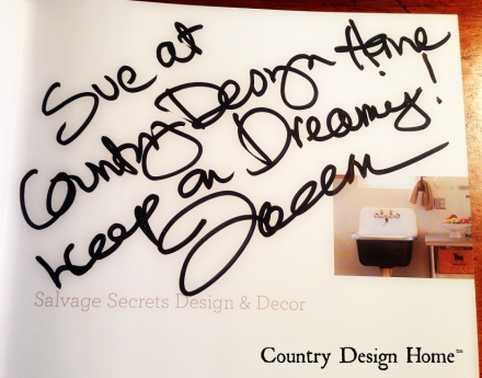 Salvage Secrets Joanne Palmisano Autographed