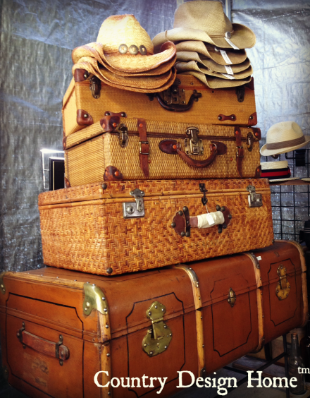 Vintage Hats and Suitcases Howards Entertainment