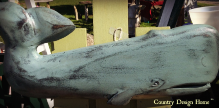 Vintage Bazaar Whale