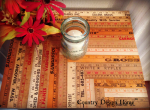 Vintage Reclaimed Ruler Tabletop