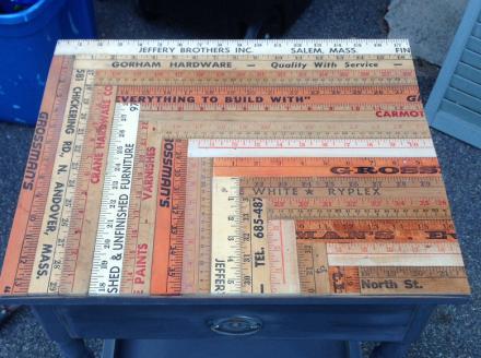 Vintage Rules Tabletop Detail