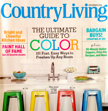 Country Living Decorating Cover