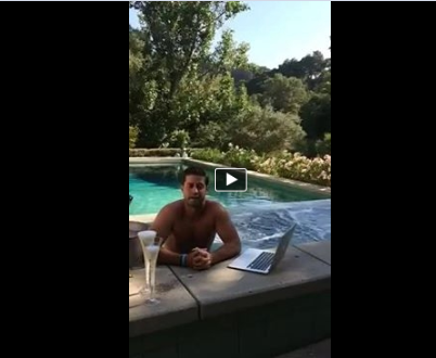 Pete Frates Video California