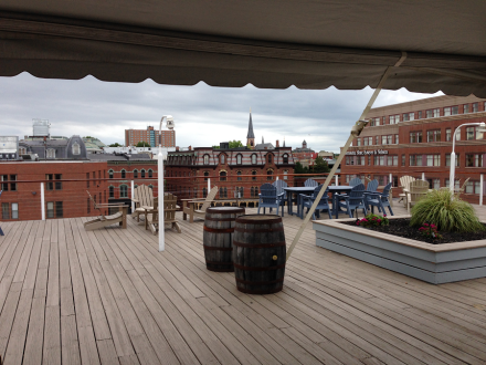 Roof Deck at 25 Pearl Portland