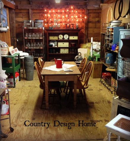 Country Design Home in the Barn At Todd Farm