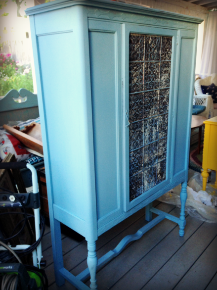 Vintage Painted Cabinet PM