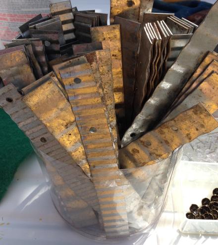Vintage Sink Metal Brackets