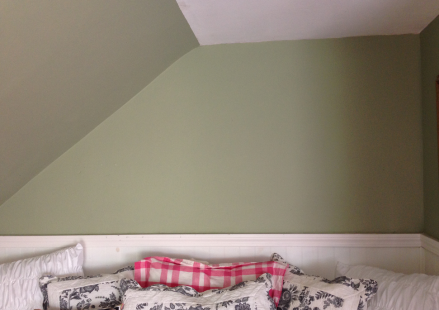 Wall Decal Green Wall Alcove