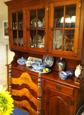 Dining Room Hutch After