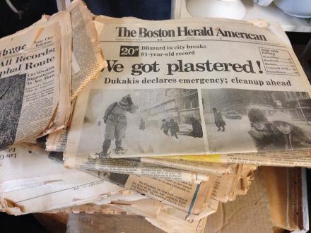 Green Goat Boston Herald Dukakis Administration