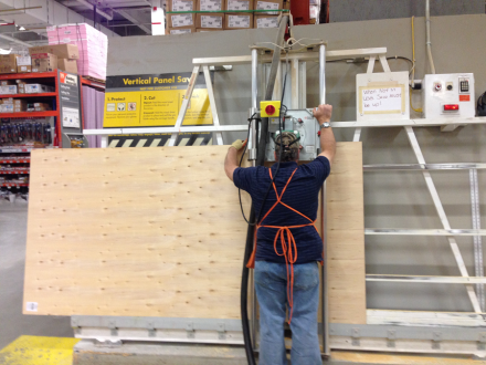 Home Depot Plywood Sheet Cutting Machine