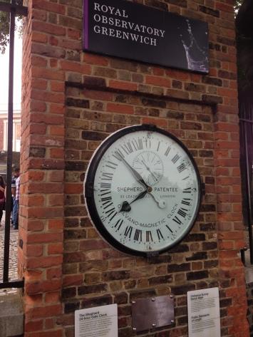 Greenwich Mean Time Greenwich England