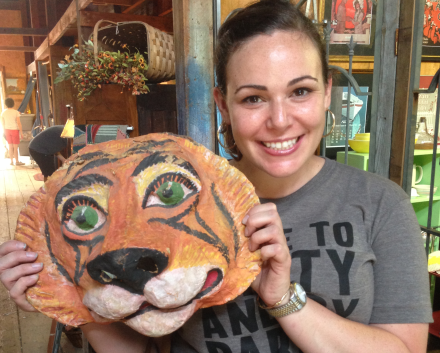 Lisa and Tiger Head