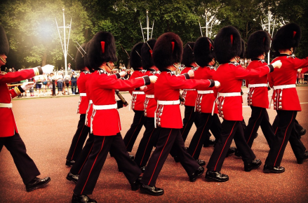 London Changing of the Guard PM