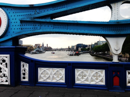 London from the Tower Bridge PM