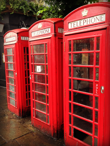 London Red Phone Booths PM