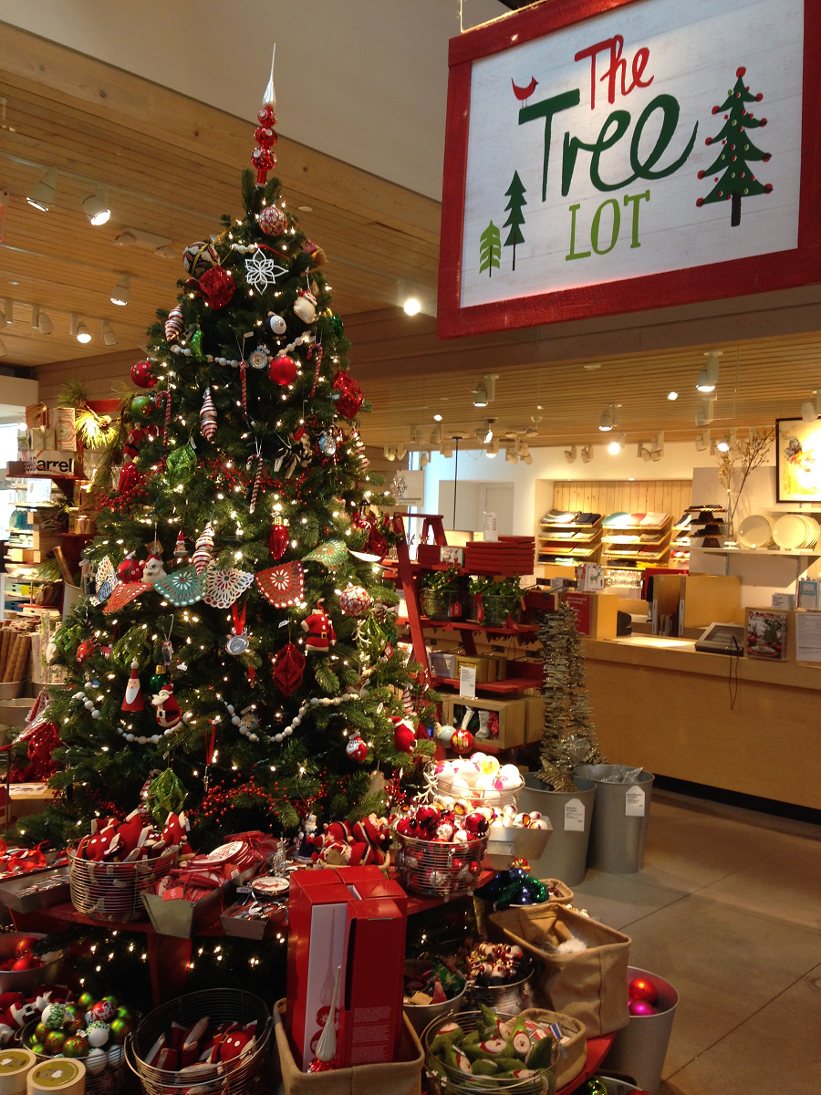 crate barrel christmas trees - Crate And Barrel Christmas Decorations
