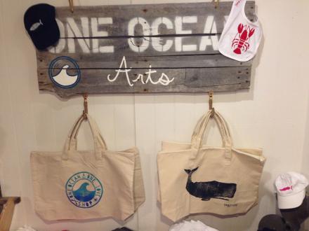 One Ocean Arts Tote Bags