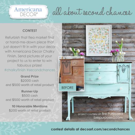 Americana Decor All About Second Chances Contest