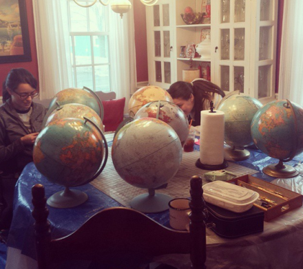 Globe Pile